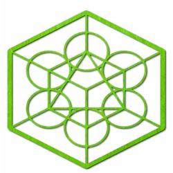 Drevený geometrický obraz na stenu žatva