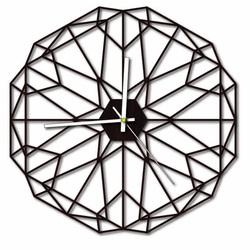 Sentop - MDF Nástenné hodiny do obyvačky HDKF017 i čierne