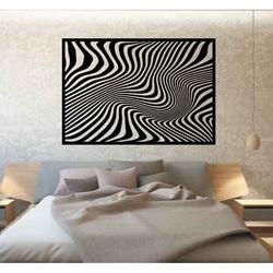 Sentop - Dekoračný obraz na stenu zebra aj čierny PR0328