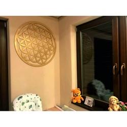 Drevená mandala ako obraz na stenu dekorácia z preglejky MANDALA