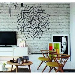 Kvet Geometrický obraz na stenu z preglejky  PR0335