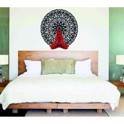 Sentop - 3D Imagine pe perete Buddha în mandala 50, 70, 90 cm