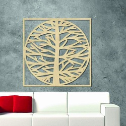 Sentop - Obraz na stenu strom v ráme MRLVEN A