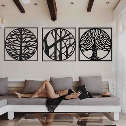 Stylesa - 3 dielny obraz na stenu DESIRROO