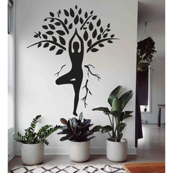 Sentop - Carved painting on plywood wall HARMONY