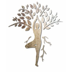 Sentop - Vyrezávaný obraz na stenu z preglejky HARMÓNIA