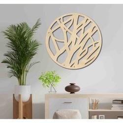Sentop - Drevený obraz na stenu kruh FOHOLHH