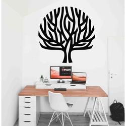 Stylesa - Moderný drevený obraz na stenu strom vietor v konároch