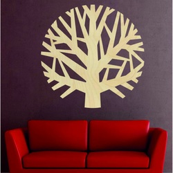 Sentop - Drevený obraz na stenu strom z preglejky GOGFOG II