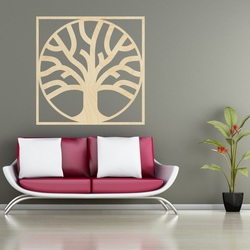 Sentop - Moderný obraz na stenu preglejka-  drevená dekorácia MOARKO