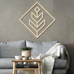 Moderný obraz na stenu - drevená dekorácia štvorec DALYO | SENTOP