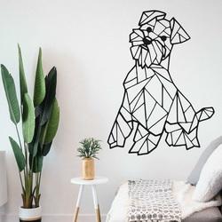 STYLESA Drevený obraz na stenu pes HAFINKO PR0228 čierna