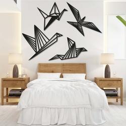 Moderný obraz na stenu - slobodné vtáky 4 ks - LIBERDADE | SENTOP