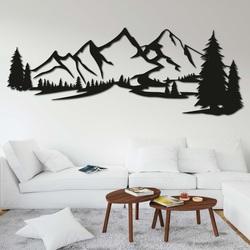Drevený obraz na stenu - HORY MONTAS | SENTOP