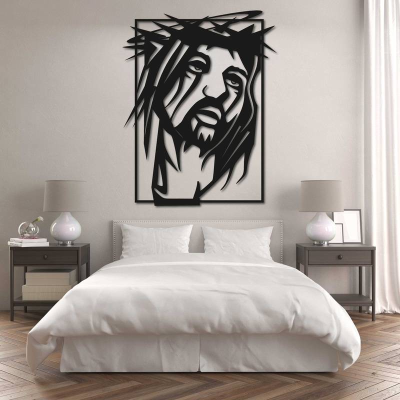 Vyrezávaný obraz s náboženským motívom - JEŽIŠ KRISTUS | SENTOP