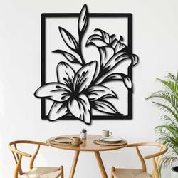 Vyrezávaný obraz na stenu krásna ľalia - INNOCENCE | SENTOP