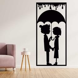 Romantický obraz na stenu zaľúbený pár - LÁSKA | SENTOP
