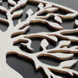 Elegantný drevený obraz na stenu -  KOVBOJ | SENTOP