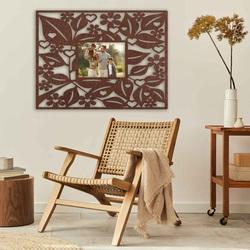 copy of Bilderrahmen an einer Holzwand - bis 50 x 50 cm