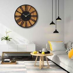 Nástenné drevené hodiny rímske číslice - Sentop | HDFK029 | dub