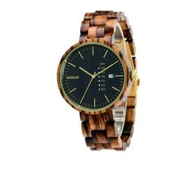 READER Dámske hodinky na ruku drevené MILANO DH010 zebra