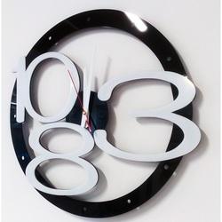 X-momo Moderní nástěnné hodiny na zeď  X0013 LUXUS aj bílé