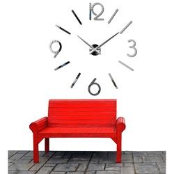 Stylesa Nástenné hodiny do obývačky MACKIE X0036 i čierne