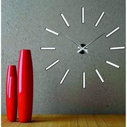 SENTOP  nástenné hodiny X0038 3D CHOCCO XXL i čierne