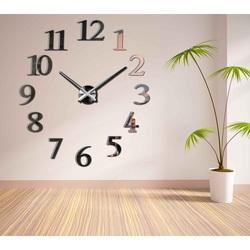 SENTOP Nástenné hodiny i čierne BETINA DIY 2D PLAXI X0066