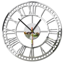 Sentop - Nástenné hodiny RÍMSKE PLEXI SMART X0068 i čierne