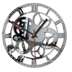 Plastové nástenné hodiny FLUMO