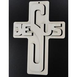 Dekorácia z dreva - Jesus, rozmer-260x187 mm