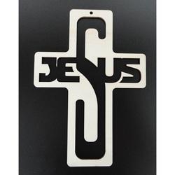 Krížik z dreva jezus rozmer: 260x187 mm