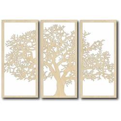 Vintage dekorácia na stenu - TREE, rozmer: 700x478 mm