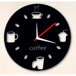 Nástenné hodiny káva STYLESA IA149