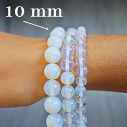 Náramok na ruku - mesačný kameň - Ø FI 10 mm
