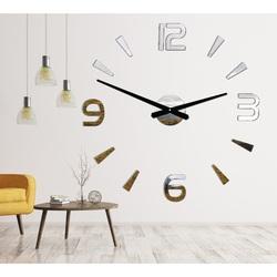 Sentop - Nástenne hodiny nalepovacie  2D PLEXI STORE P030 i silver