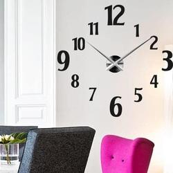 Sentop - Moderné nástenné hodiny LUSSO S024 i čierne