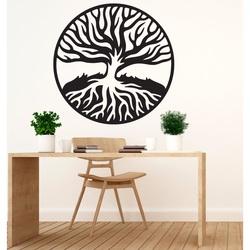 Moderný obraz z drevenej preglejky KORENE