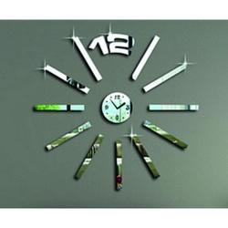 Nástenné hodiny zrkadlové( zrkadlové hodiny na stenu paličky) READY