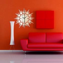 Stylesa - Nástenné hodiny Slnečné lúče, 30x30 cm