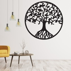 Drevený obraz na stenu z preglejky strom života HABULKOVO