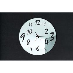 Stylesa - Nástenné hodiny pre potešenie, 30x30 cm IA082S i čierne