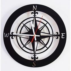 Sentop Nástenné hodiny svetové strany GUALD HDKF014 i čierne