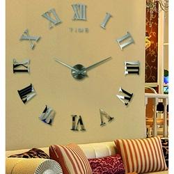Stylesa Nástenné hodiny rímske na stenu HUGO S031i čierne