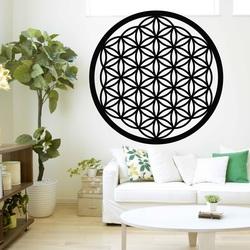 Mandala fából készült kép a falon a lemez fa Xenna