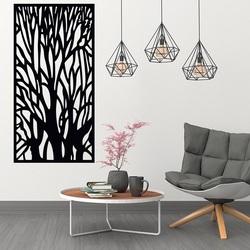 Drevený obraz na stenu silueta konáre z preglejky strom  FIBIS