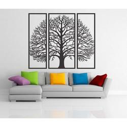 Holzbild an einer Wand aus Sperrholzbaum HKFIBIS