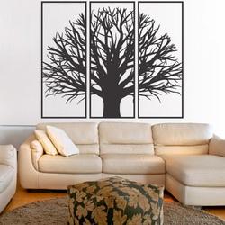 Fából készült rétegelt lemez fa festménye keretben / 3 keret / KANANA  keretben