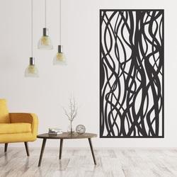 Fából készült dekor festés a falon a rétegelt lemez HARABASO